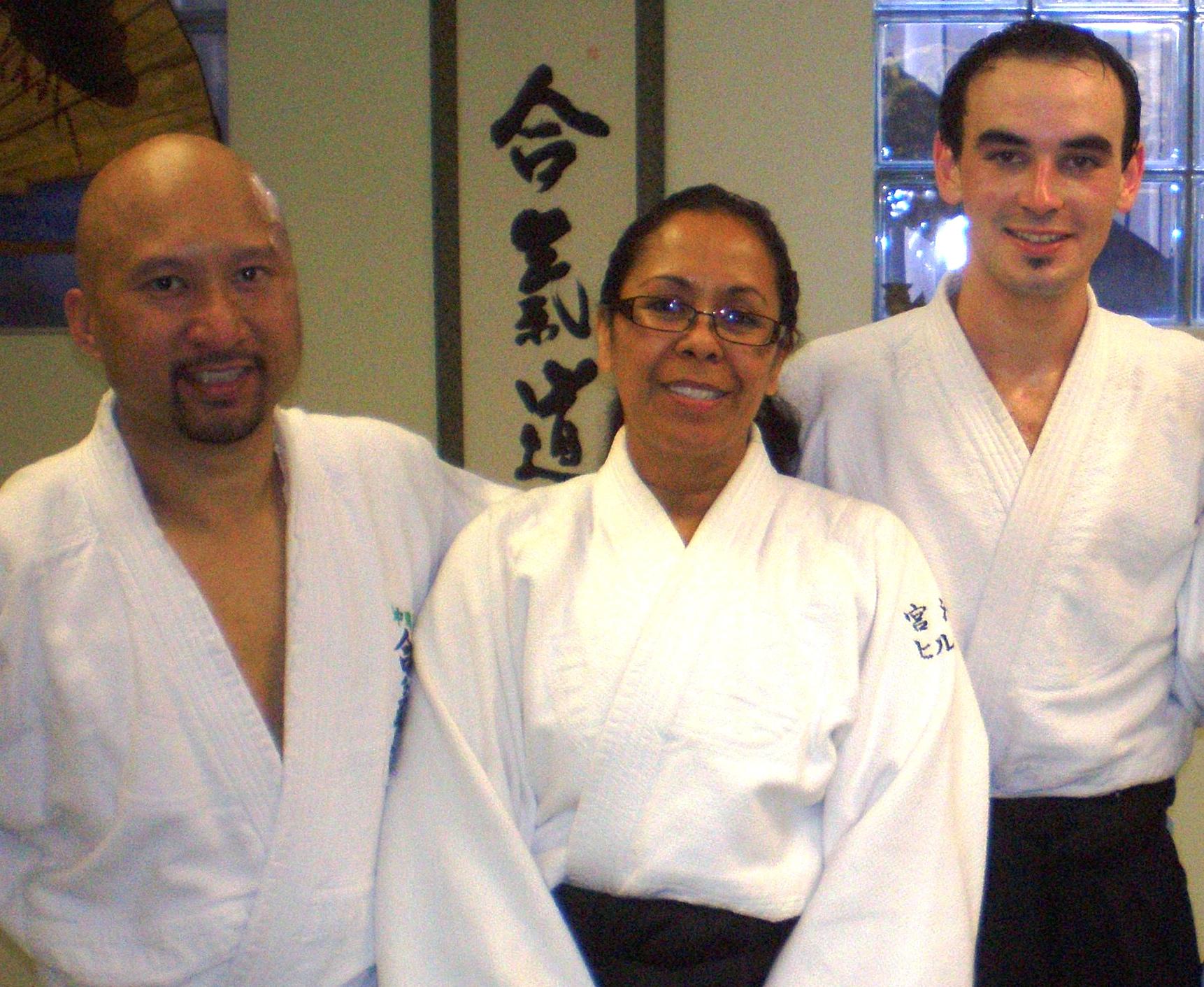 Instructors at DC Aikido Martial Arts, Washington, DC