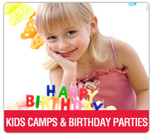 camps and birthday parties washington DC