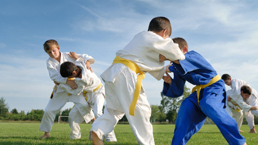 Judo Program at Elkhorn Flying Dragons, Elkhorn, WI