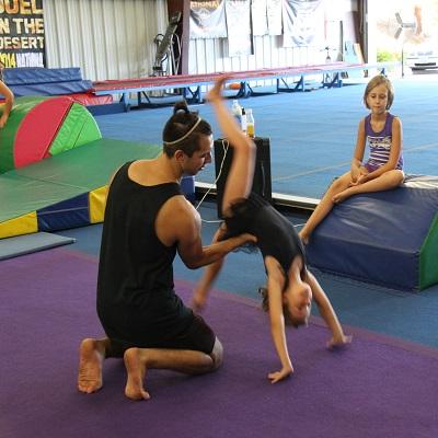 Martial Arts Program at Just Tumble, Roseville CA