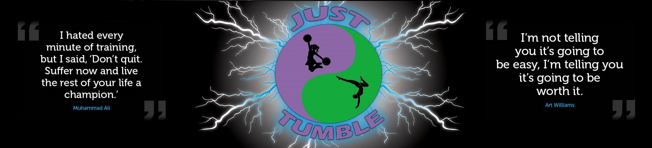 Just Tumble Banner