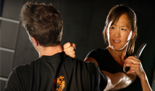 self defense & fitness classes