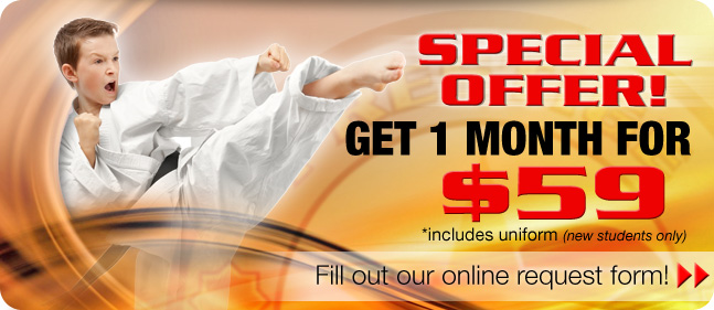 martial arts special offer abbotsford chilliwack