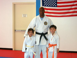 Kids with Instructor