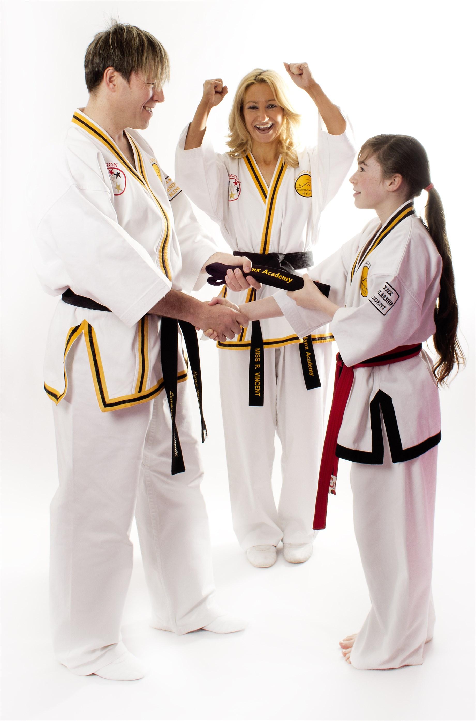 Family Program at Lynx Black Belt Leadership Academy, Retford