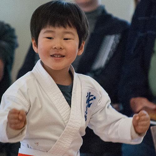 Children Karate Program at Cayuga Lake Seido Karate, Lansing, NY