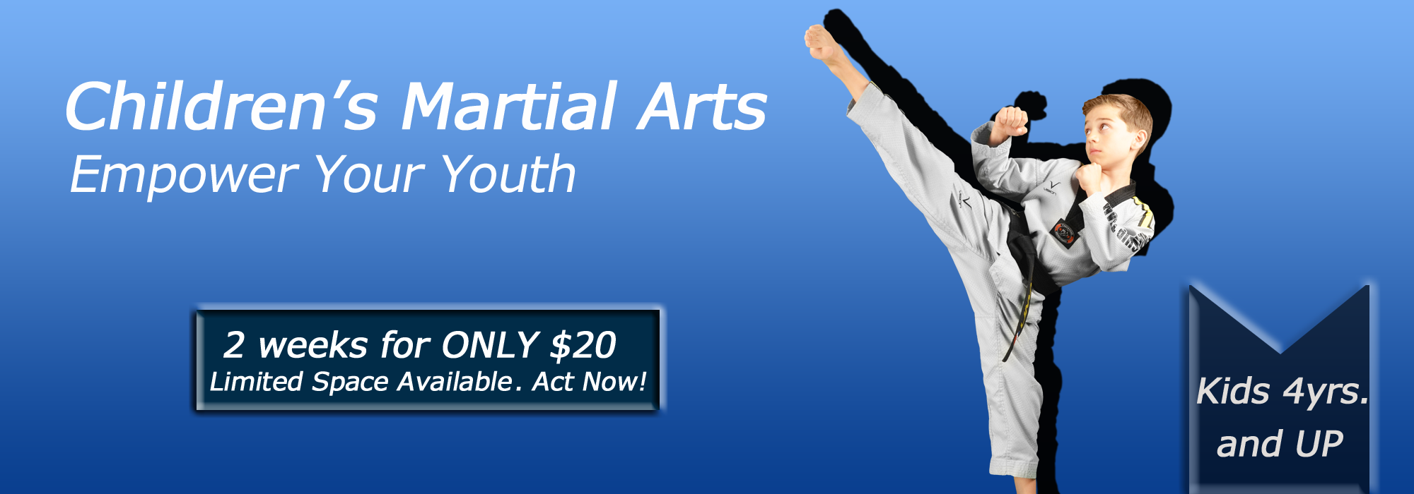 kid martial art classes in Warwick & Monroe