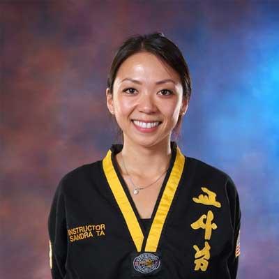 Instructor Sandra Ta at Legacy Martial Arts Training