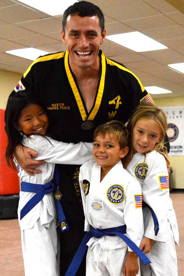 Happy kids at Legacy Martial Arts Training