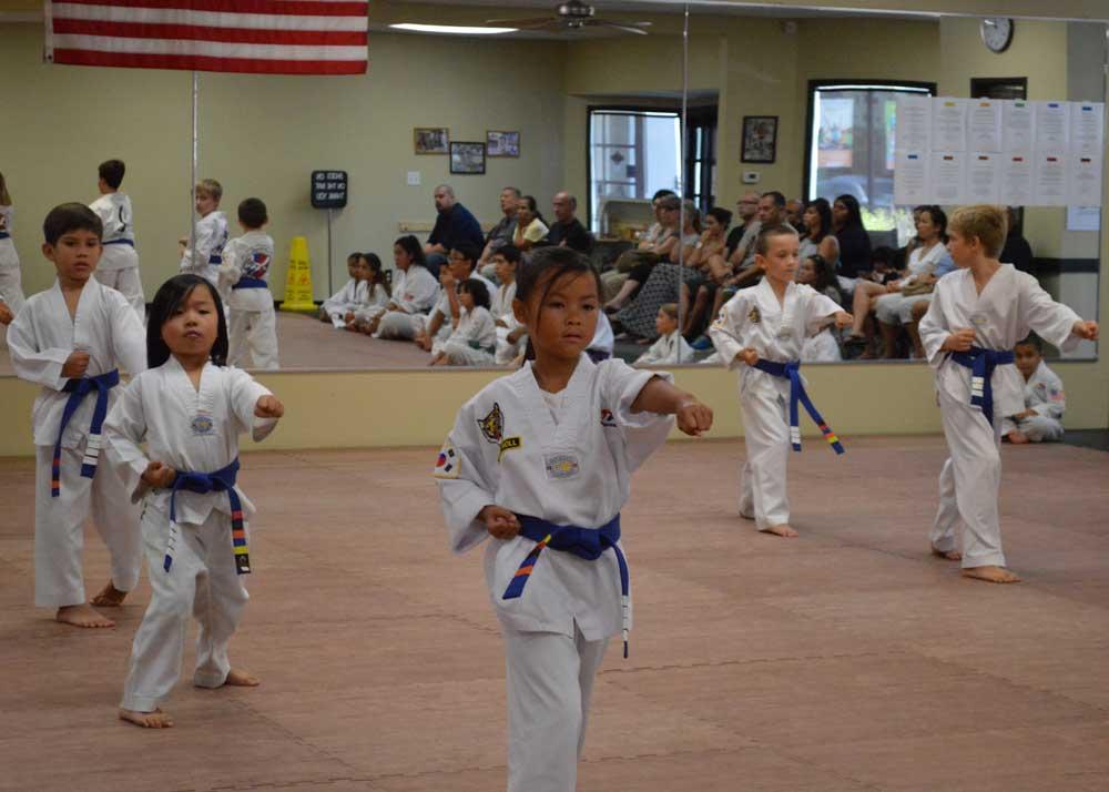 Taekwondo Class at Legacy Martial Arts Training