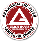 Gracie Barra Vancouver Logo
