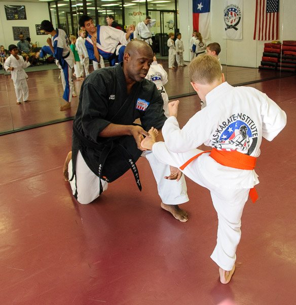 Children Program at Texas Karate Institute, Richardson, Texas