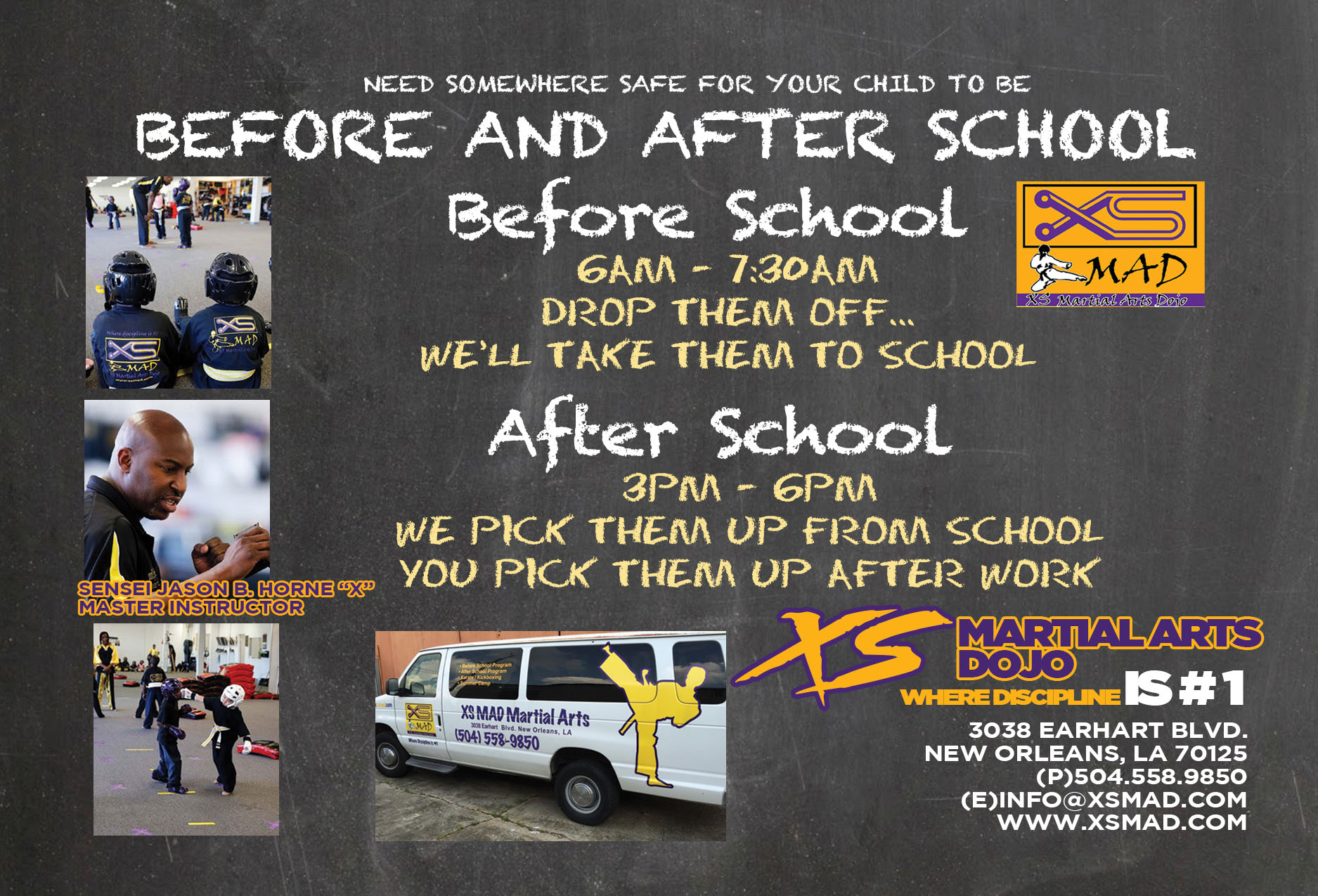 XS Martial Arts' After/Before School Program