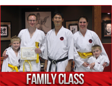 family karate classes burlington