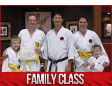 family karate classes burlington