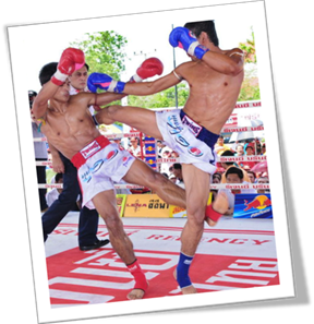 muay thai boxing match