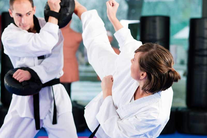 taekwondo adults at Rays Tae Kwon Do Center