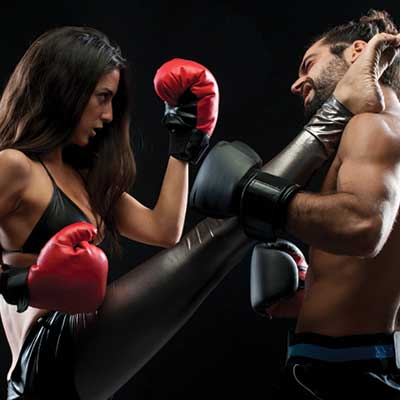 Kickboxing in Lebanon and Hanover