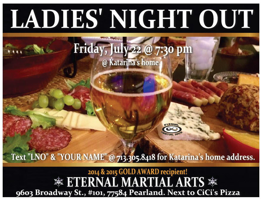 ladies night out pearland tx