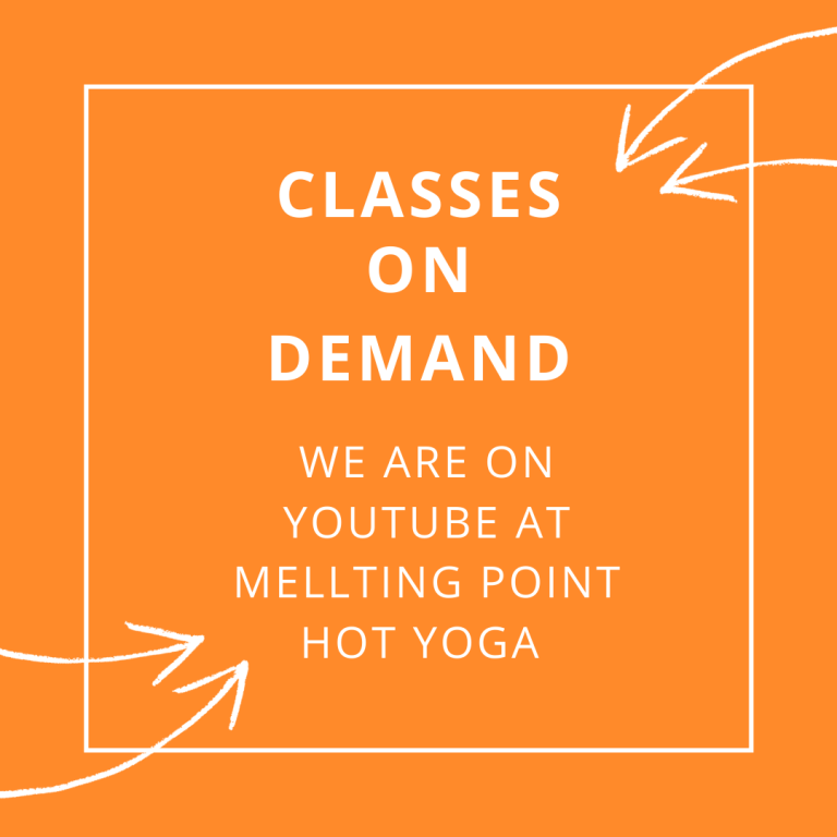 Online Yoga Classes at Melting Point Hot Yoga