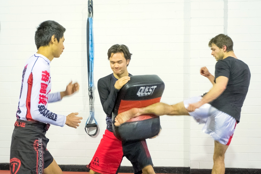 Mixed Martial Arts Training in Perth
