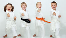 Children's Martial Arts program in South West Calgary