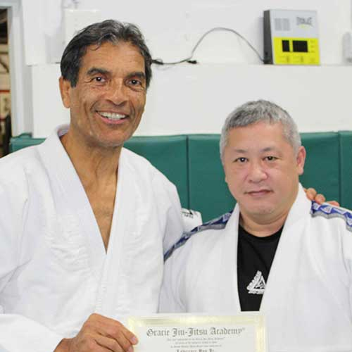 Larry Yap, instructor of Norfolk Karate Academy / Gracie Jiu-Jitsu Norfolk<br>, Norfolk, VA