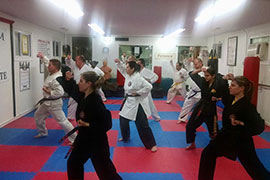 martial art program at Calla Karate, Staten Island
