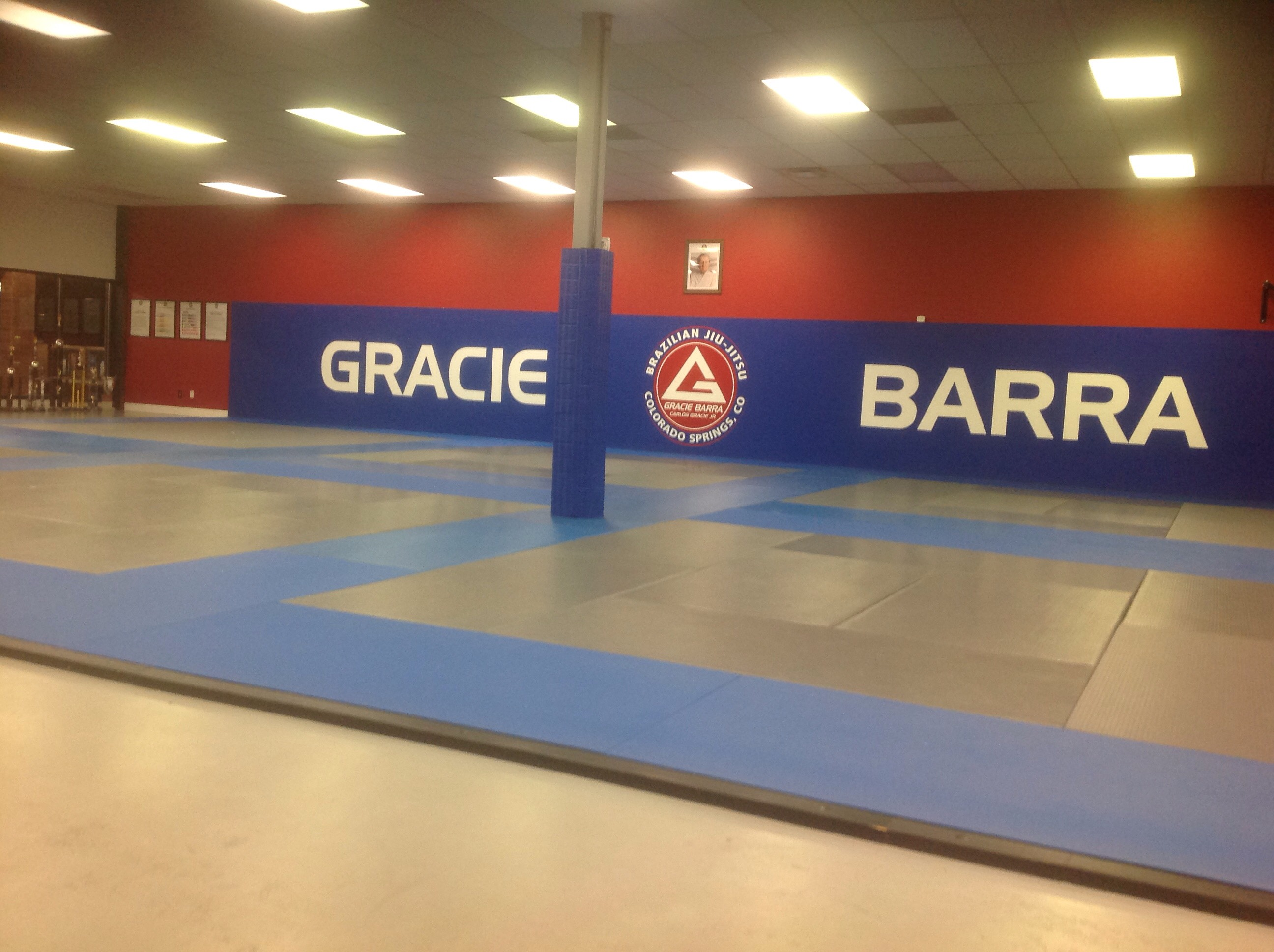 inside training area of GB Colorado Springs