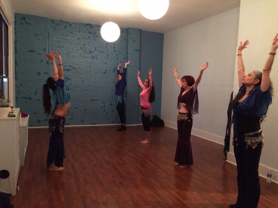 new rochelle belly dance class in session