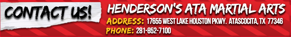 Our Schedule | Henderson's ATA Martial Arts
