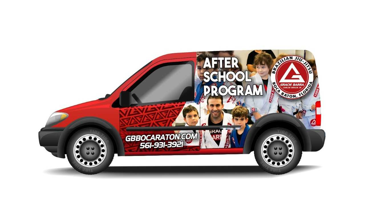 After School Pick Up Van in Boca Raton
