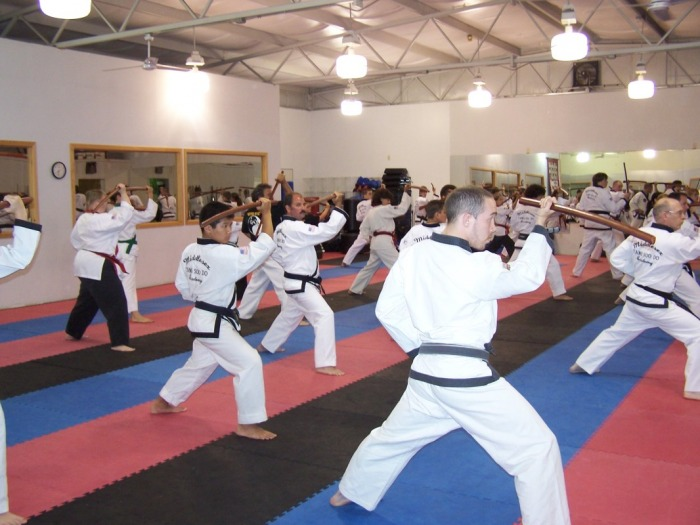 Martial Arts performance at Middlesex Tang Soo Do