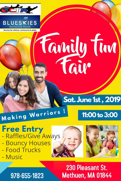 FamilyFun Fair - June 1 2019 11am - 3pm