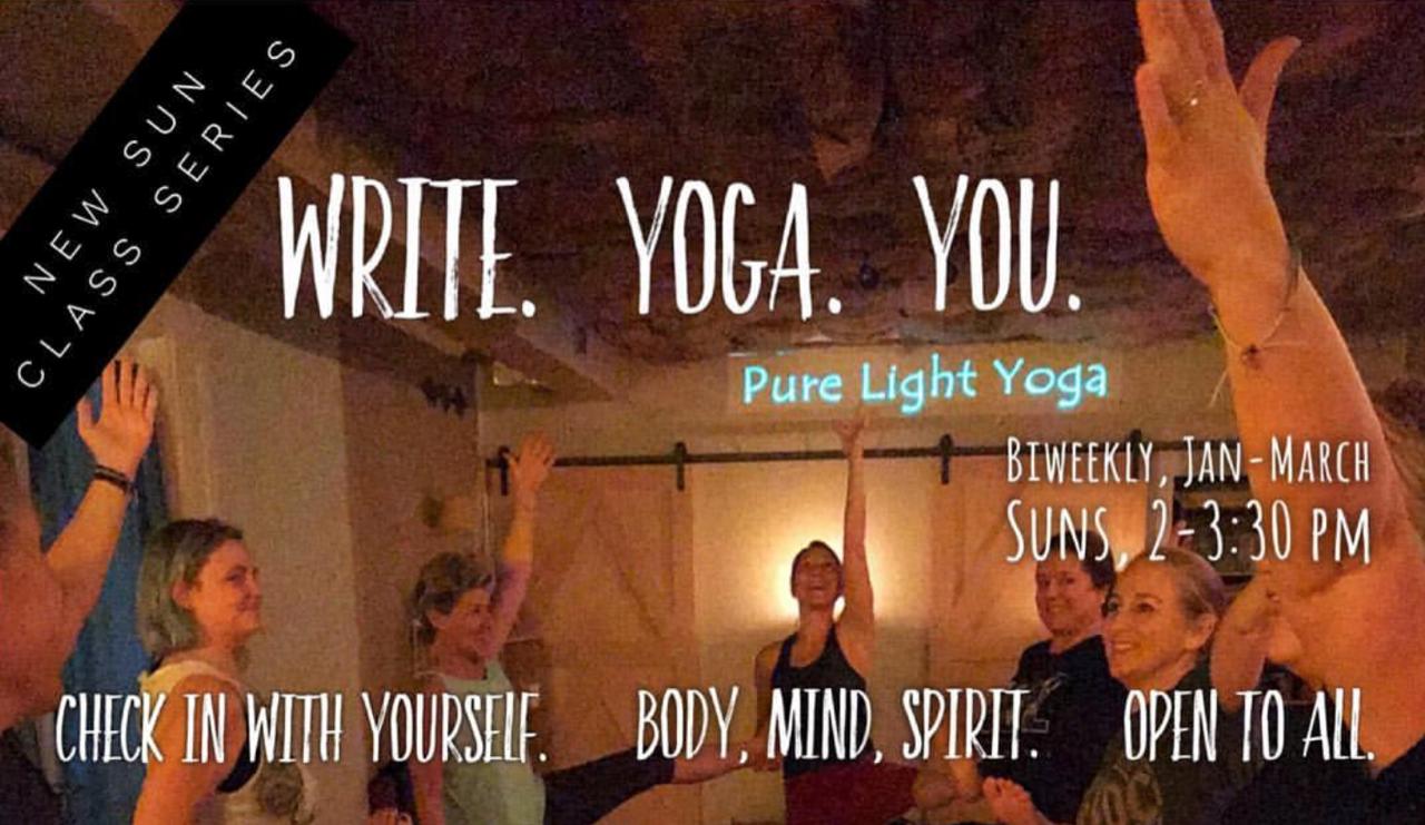 Write. Yoga. You.