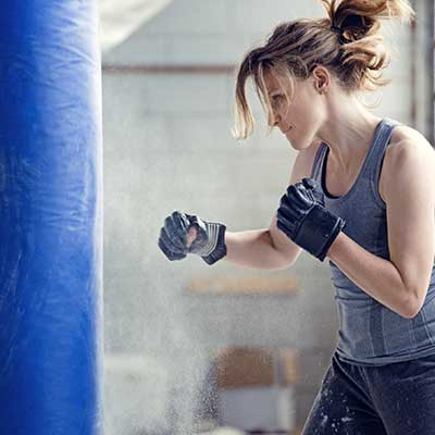 kickboxing classes at e2 Yoga and Fitness, Mequon, Wisconsin