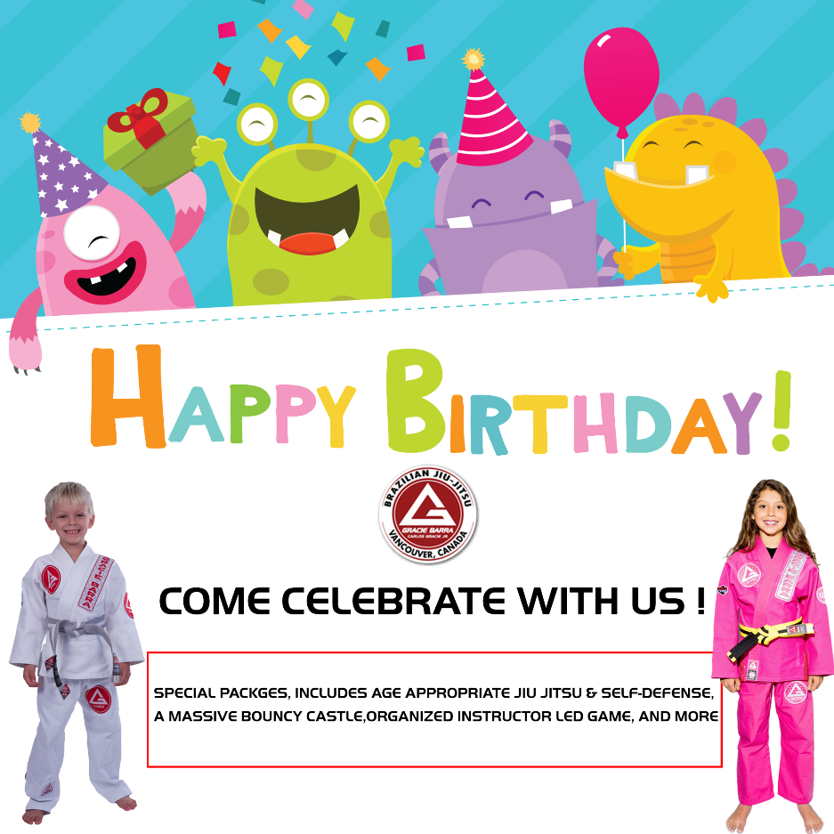Birthday Parties Flyer