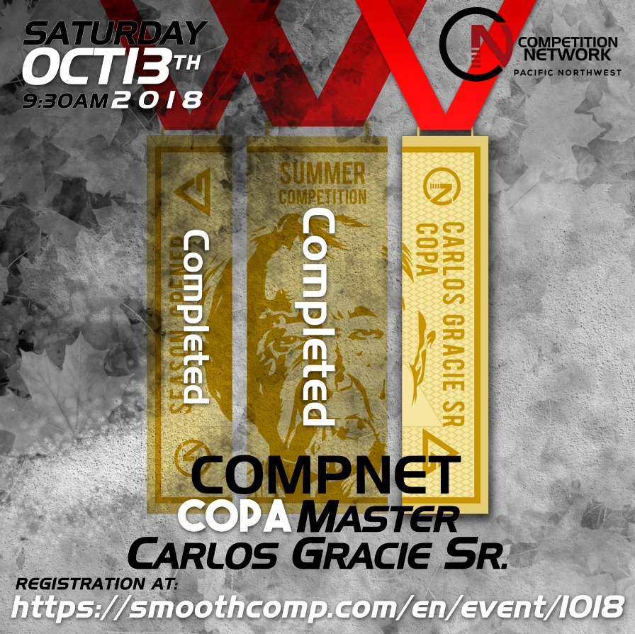 GB Compnet Copa Master Carlos Gracie Sr. 2018