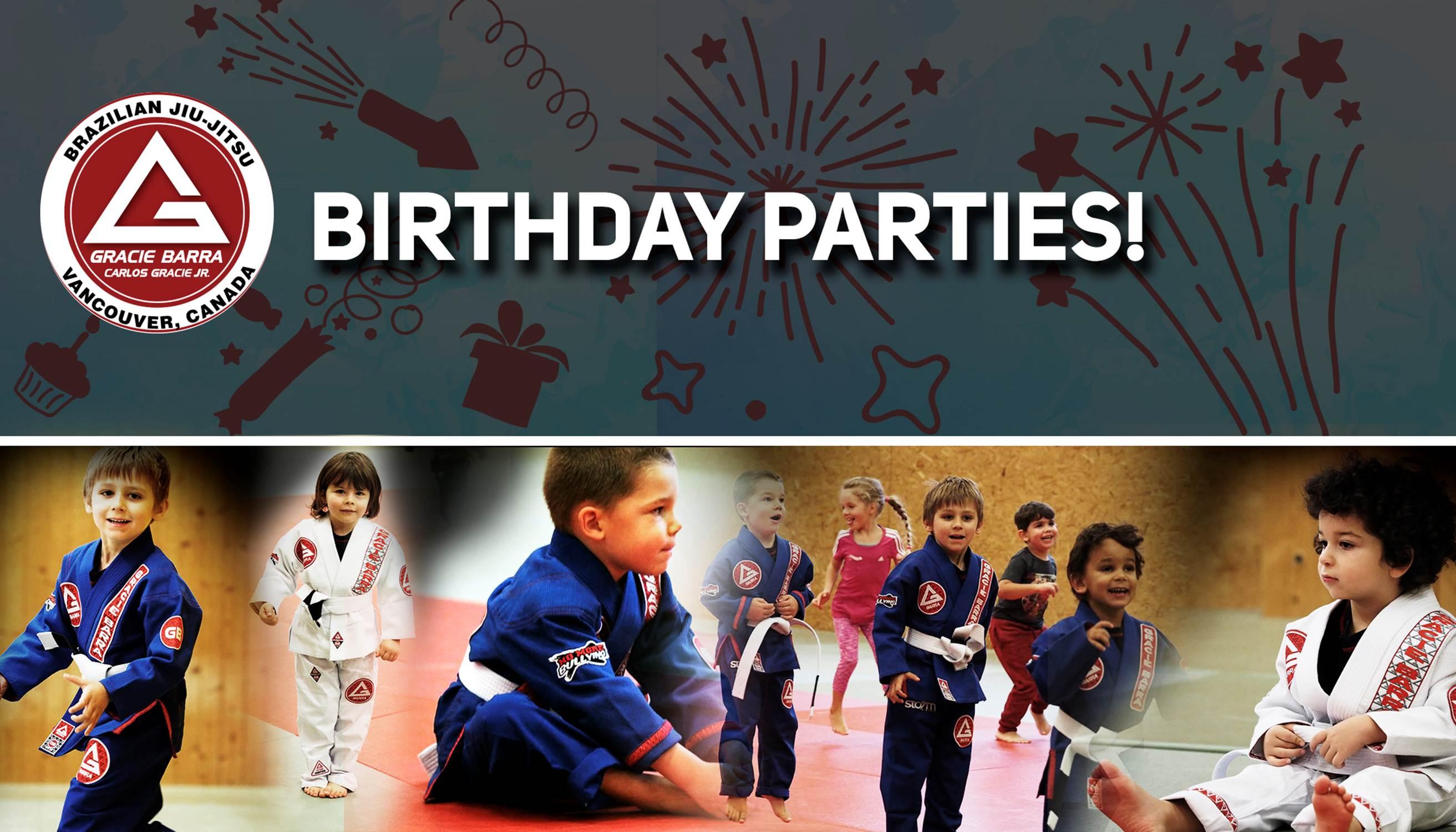 Birthday Parties Flyer