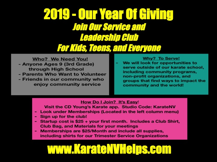 Karate in Henderson Family Karate Program