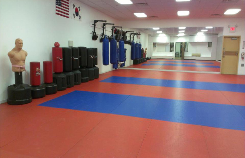 karate training area henderson