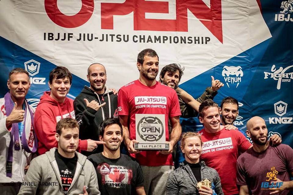 Gracie Barra Caps off their 2016 tournament season by taking 1st place overall.