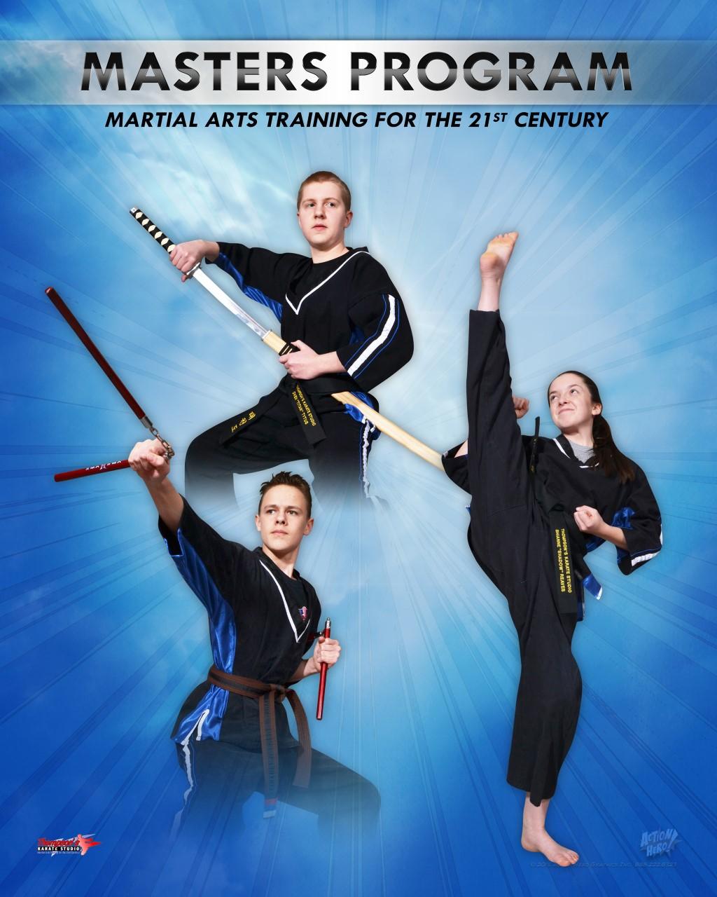 Masters Program | Thompson's Karate Studio, Greencastle PA