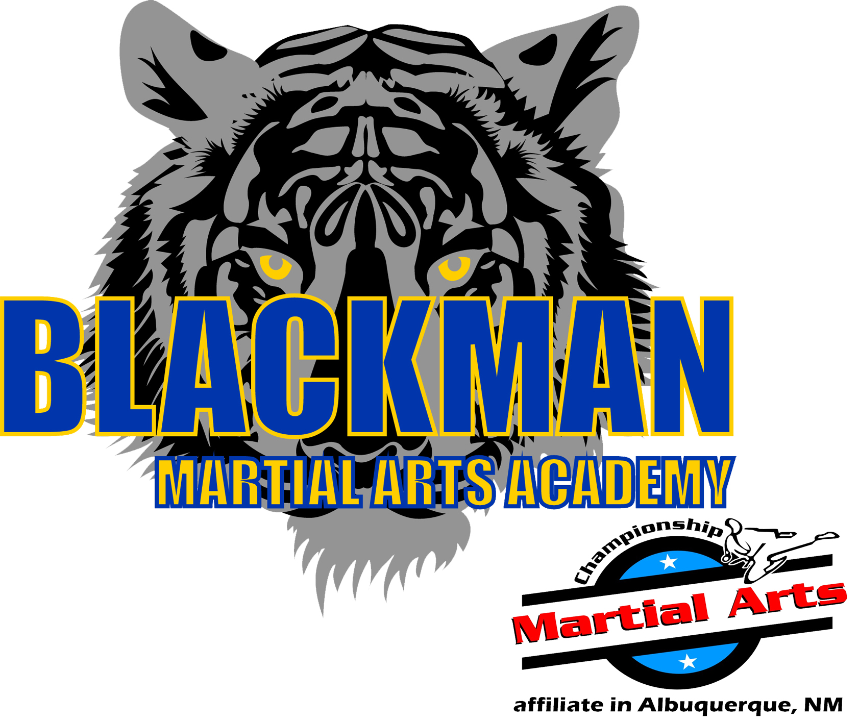 Blackman Martial Arts Logo