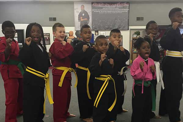 Beginner Kids at LK Wells Martial Arts & Fitness