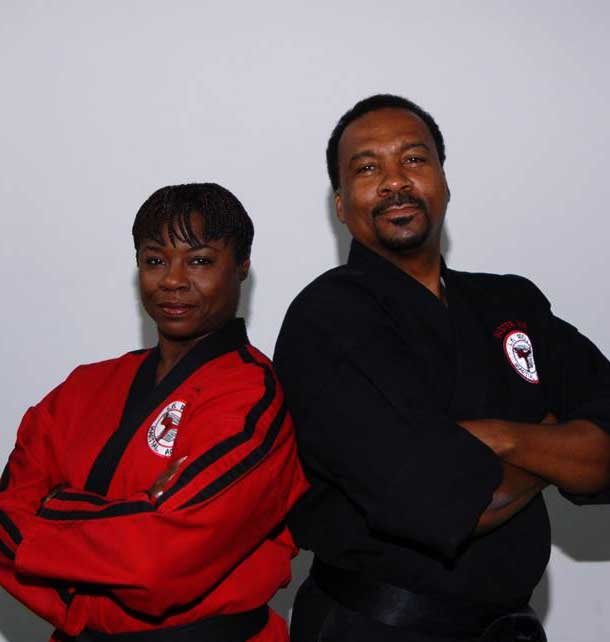 Master Larry Wells and Denise Wells at LK Wells Martial Arts & Fitness