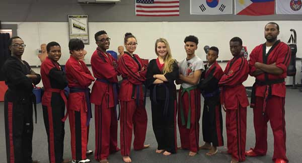 Teens and Adults Taekwond at LK Wells Martial Arts & Fitness