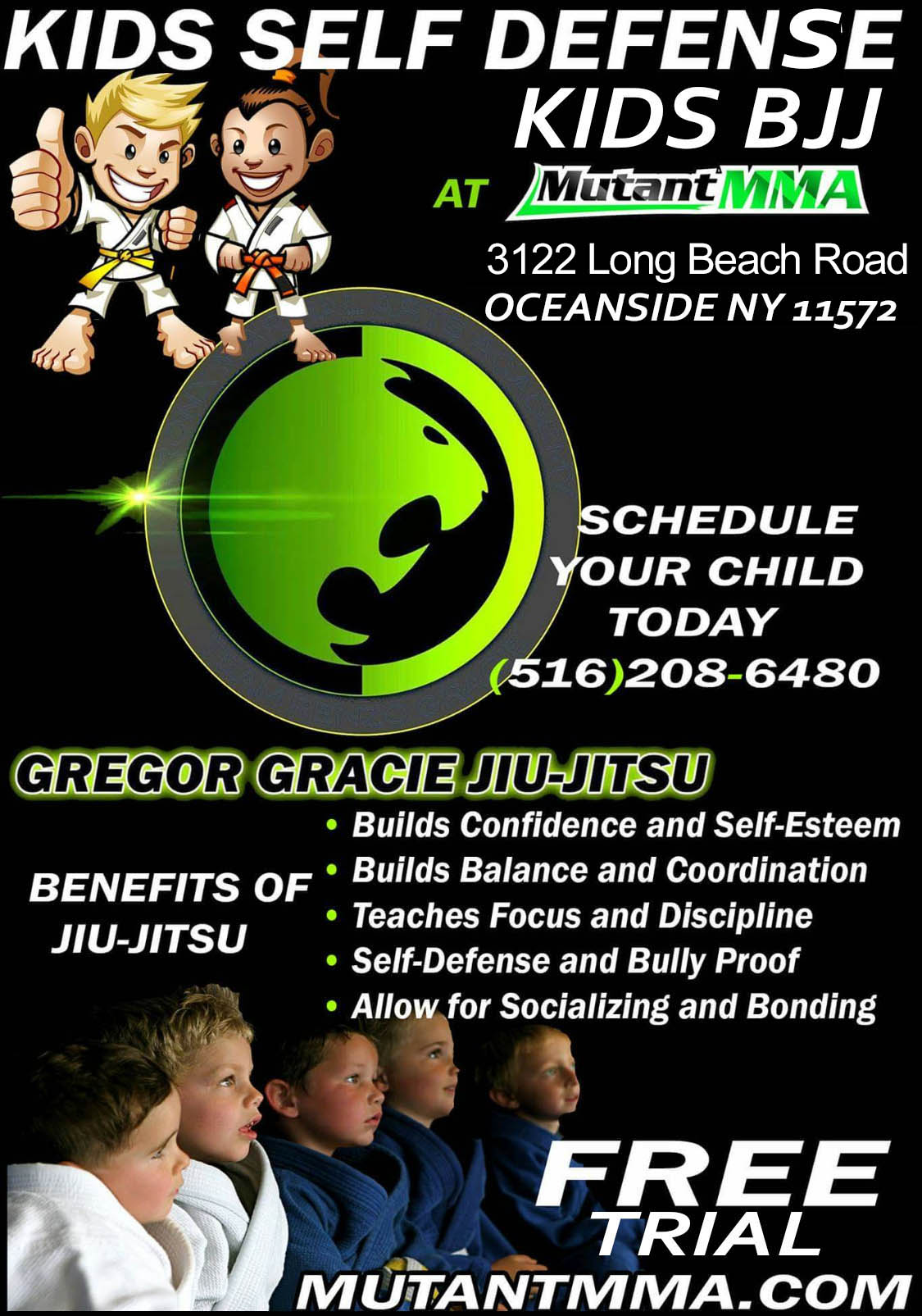 Oceanside Martial Arts   Mutant MMA in Long Island