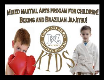 kids mixed martial arts
