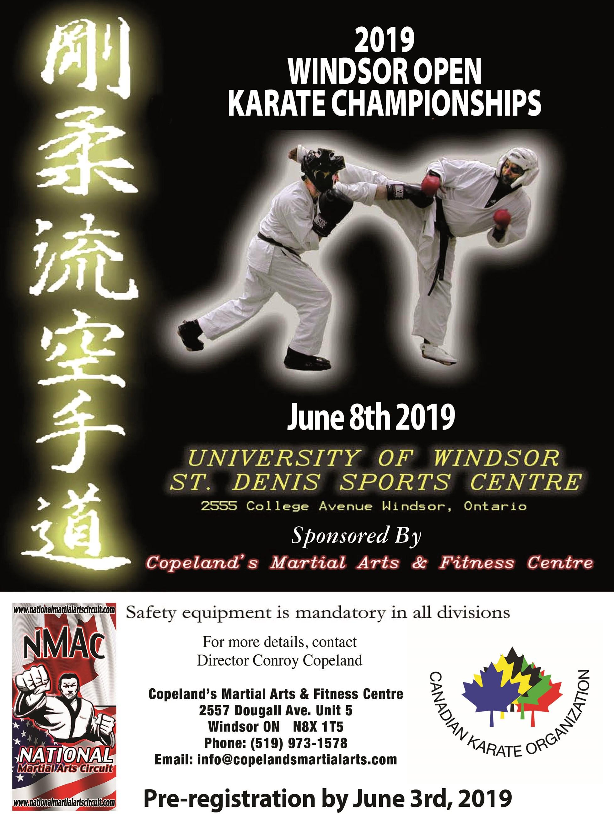 Tournaments | Copelands Martial Arts, Windsor, Ontario